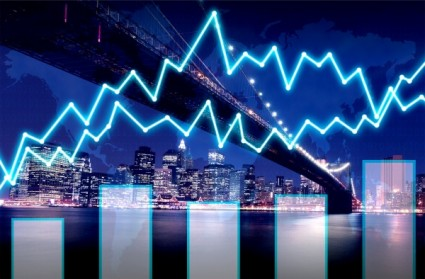 finance-graph-on-manhattan-at-night--finance-concept